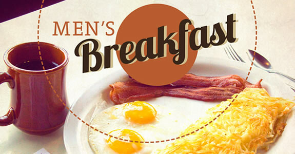 MEN'S WEEKLY BREAKFAST AND FELLOWSHIP